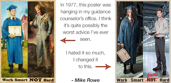 Ted talk mike rowe